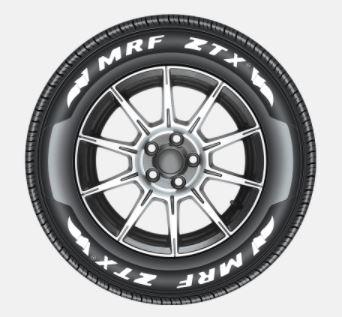 MRF: 155/80R13-ZTX-TL